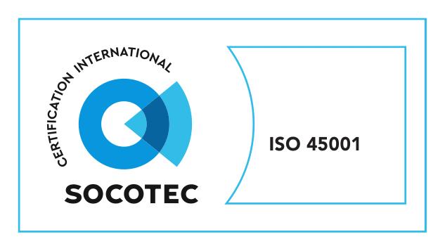 Overhead Crane Singapore ISO 45001